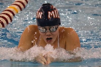 Girls' Swimming