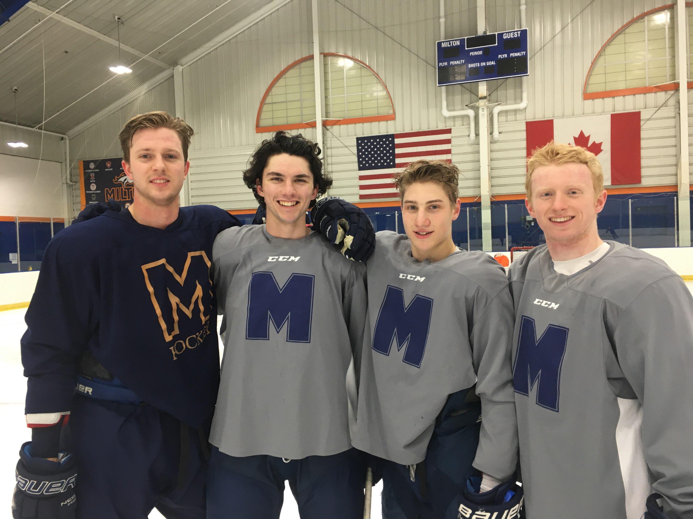 Seniors 2020 Milton Hockey