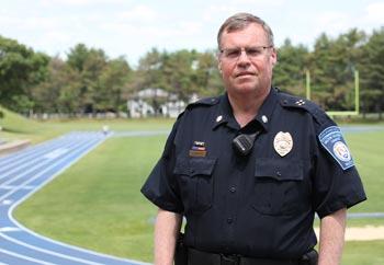 Campus Safety Director Jay Hackett Wins National Award