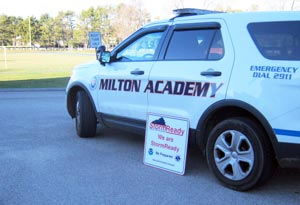 Milton Is StormReady, Thanks to the Campus Safety Team