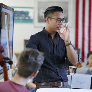 Meet Adrian Anantawan, Milton's New Music Department Chair
