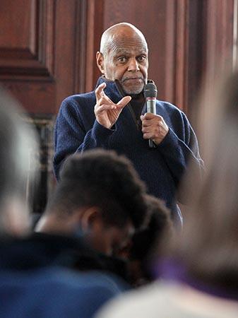 Education Unlocks The Full Potential Of Citizenship, Dr. Robert Moses Tells Milton Students