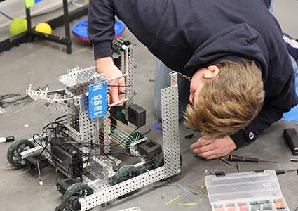 Milton's Robotics Team Makes Its Mark