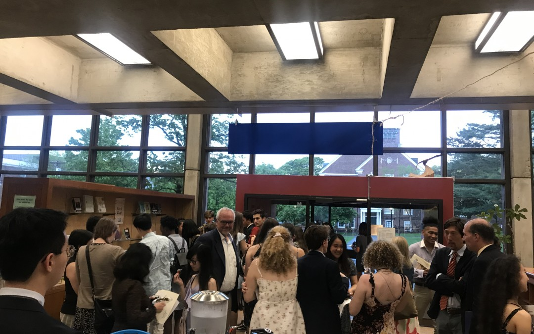 The Perskys Honor Milton's Student Writers and Artists