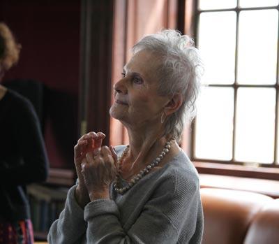 Holocaust Survivor Sylvia Ruth Gutmann Urges Students to Keep History Alive Through Stories