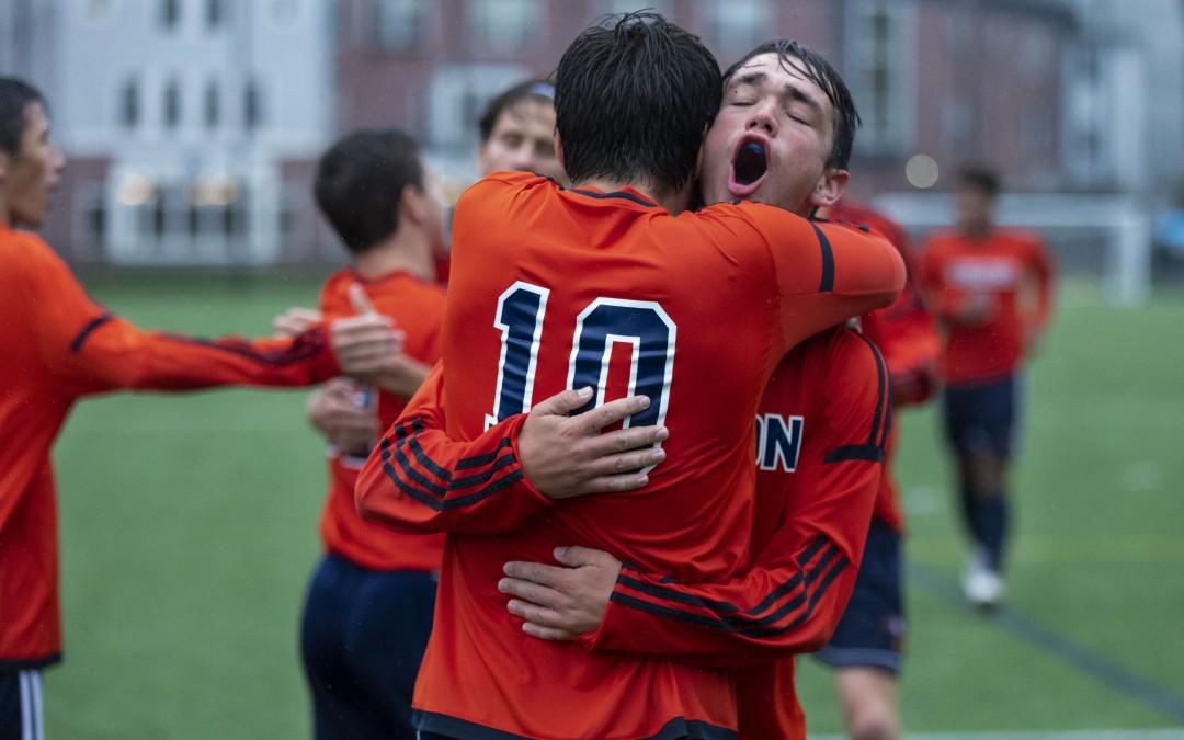 Boys' Varsity Soccer: ISL Champs