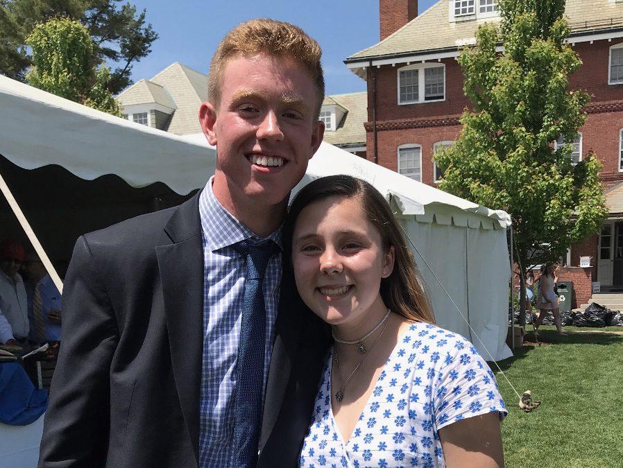 Eliza Dunn and Garvin McLaughlin Elected Head Monitors