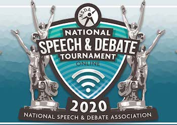 Milton Speechies Succeed as Nationals Go Virtual