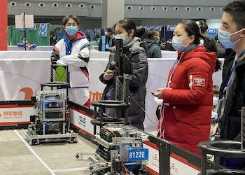 Robotics Team Members Hone Skills for the Future